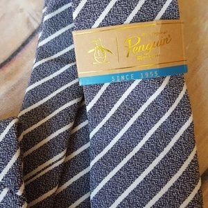 Men's Penguin Skinny Tie